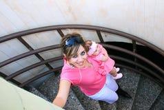 dottermoder Royaltyfria Bilder