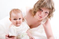 dottermoder arkivfoton