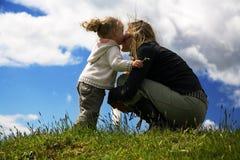 dottermoder Royaltyfri Fotografi