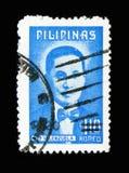 Dottore Pio Valenzuela, serie dei patrioti, circa 1974 immagine stock libera da diritti
