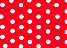 Dotty background. White dots on the red background royalty free illustration
