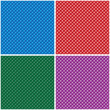 Dotty Background Set Stock Photos