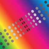 Dotty Rainbow Stock Images