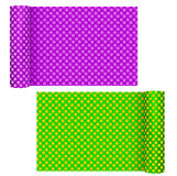 Dotty wallpaper rolls - DIY, home improvements Royalty Free Stock Image