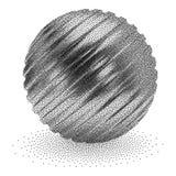 Dotwork Halftone Vector Sphere Stock Photo