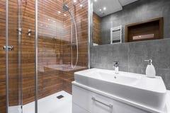 Dotyk luksus w łazience Obrazy Royalty Free