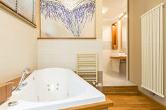 Dotyk luksus w nowożytnej łazience Zdjęcie Royalty Free