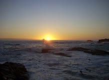 dotykania słońca Obrazy Stock