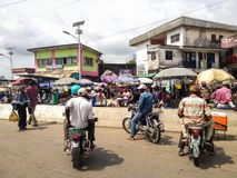 Douala, Camerun Fotografia Stock Libera da Diritti