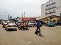 Douala, Kamerun Stockfoto