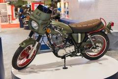 Douane Amerikaanse militaire motorfiets Stock Fotografie