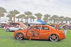 Douane Chrysler 300 Royalty-vrije Stock Foto's