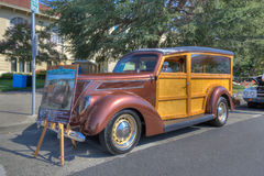 Douane Ford Woody Royalty-vrije Stock Afbeelding