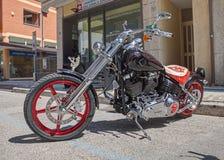 Douane Harley Davidson Royalty-vrije Stock Foto's