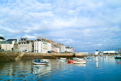 Douarnenez in brittany Stock Photos