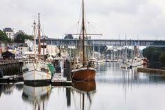 Douarnenez, Finistère, Bretagne, Frankrijk Stock Fotografie