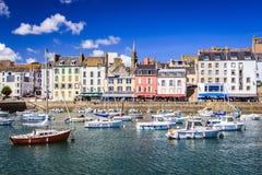 Douarnenez, Finistère, Brittany, Francja obrazy stock