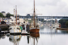 Douarnenez, Finistère, Brittany, France. stock photography