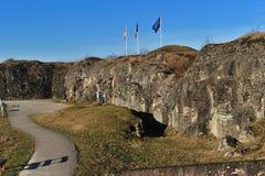 douaumont第一个堡垒战争世界 免版税图库摄影