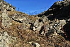 douaumont第一个堡垒战争世界 库存照片