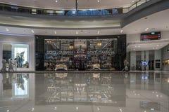 DOUBAI, de V.A.E - 06,2018 januari: binnen de Wandelgalerij van Doubai Doubai M Stock Afbeelding
