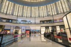 DOUBAI, de V.A.E - 06,2018 januari: binnen de Wandelgalerij van Doubai Doubai M Stock Foto's