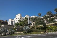 DOUBAI, de V.A.E - 05,2018 januari: Het Jumeirah-Strandhotel, in Jumei Stock Foto's