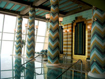 Assawan Spa en de Club van de Gezondheid in Al Burj Arabisch hotel in Doubai. Stock Afbeeldingen