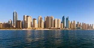 Doubai, Jumeirah-Strandwoonplaats Stock Afbeeldingen