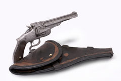 Double-action revolver Royalty Free Stock Images