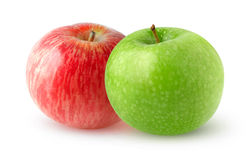 double apples Stock Photography
