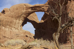Double Arch Royalty Free Stock Images