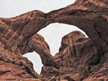Double arch Stock Photography
