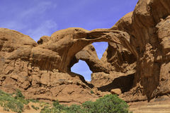 Double Arch Royalty Free Stock Photo