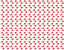 Double Baby Hearts Seamless Background vector illustration