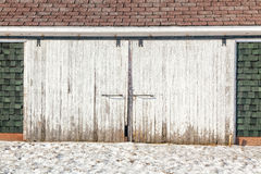 Double Barn Doors Royalty Free Stock Images