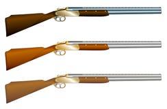 Double-barreled gun Royalty Free Stock Photo