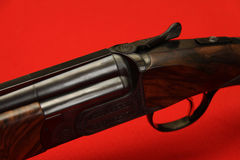 Double-barrelled gun Royalty Free Stock Photography
