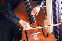 Double bass Royalty Free Stock Images