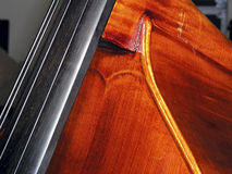 Double-Bass Neck Block. Neck Block  of Double-Bass Royalty Free Stock Images