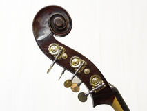 Double-Bass Scroll - 8 Royalty Free Stock Photos