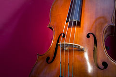 Double basse Photographie stock