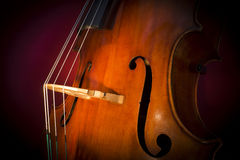 Double basse Images stock