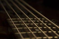 Double basse d'instrument de musique images libres de droits