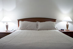 Double Bed Stock Image