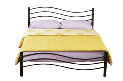 Double bed Royalty Free Stock Photo