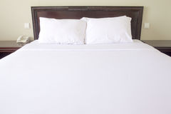 Double Bed Royalty Free Stock Image
