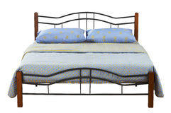 Double bed Royalty Free Stock Photography