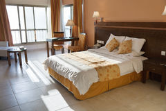 Double bed room Royalty Free Stock Photos