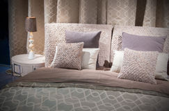 Double bed  textile Royalty Free Stock Photography